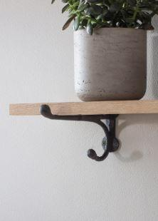 CAST IRON BRACKET SHELF - SMALL
