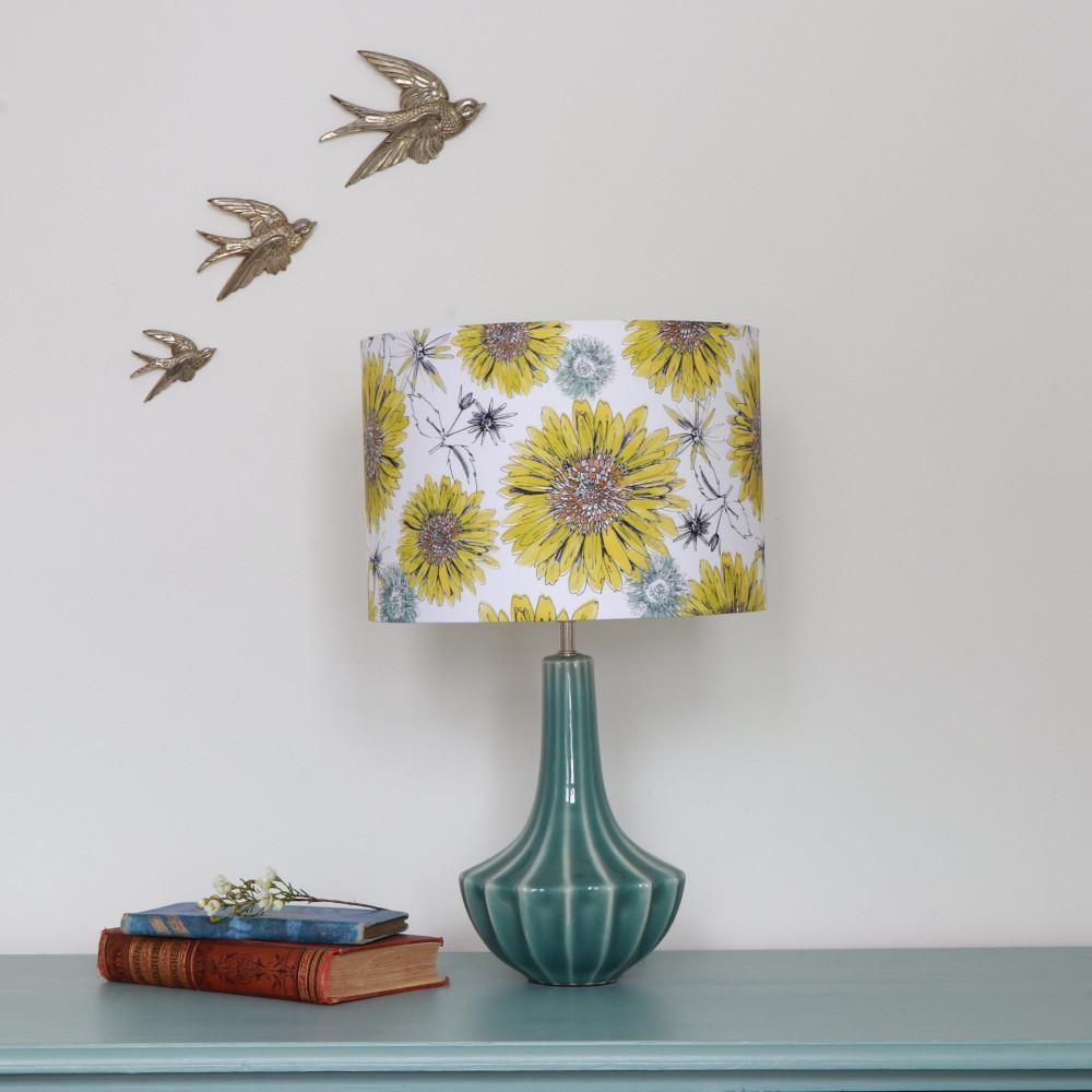 SUNFLOWER LAMPSHADE