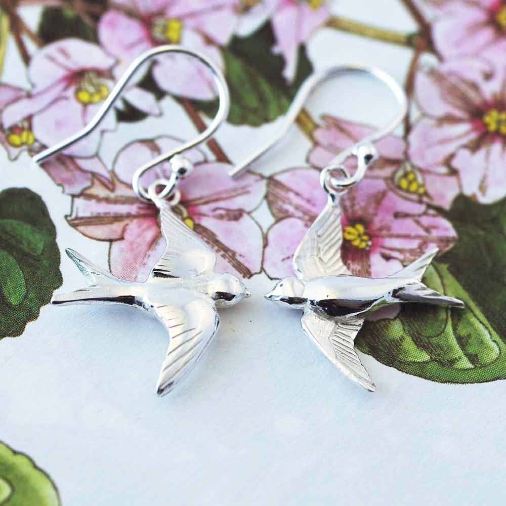 SWALLOW EARINGS