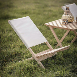 WOODEN WIMBORNE BEACH CHAIR