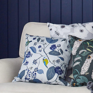 SPRING IVY BLUE CUSHION