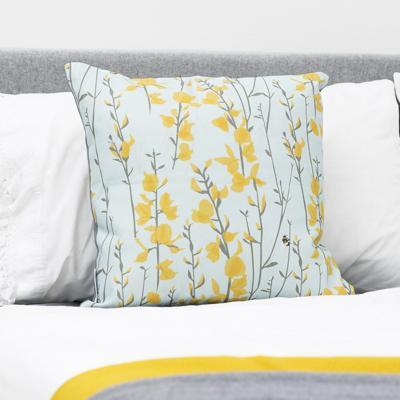 BROOM & BEE SKY CUSHION