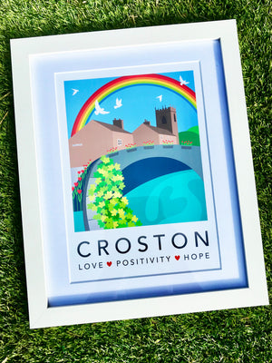 CROSTON RAINBOW - A6 GREETING CARD