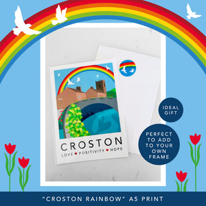 CROSTON RAINBOW - A5 UNFRAMED