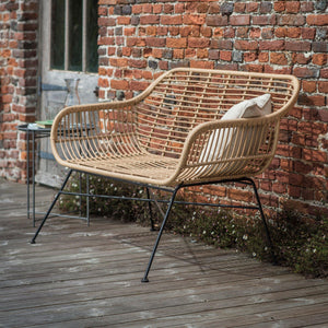 HAMSTEAD BENCH - ALL WEATHER BAMBOO