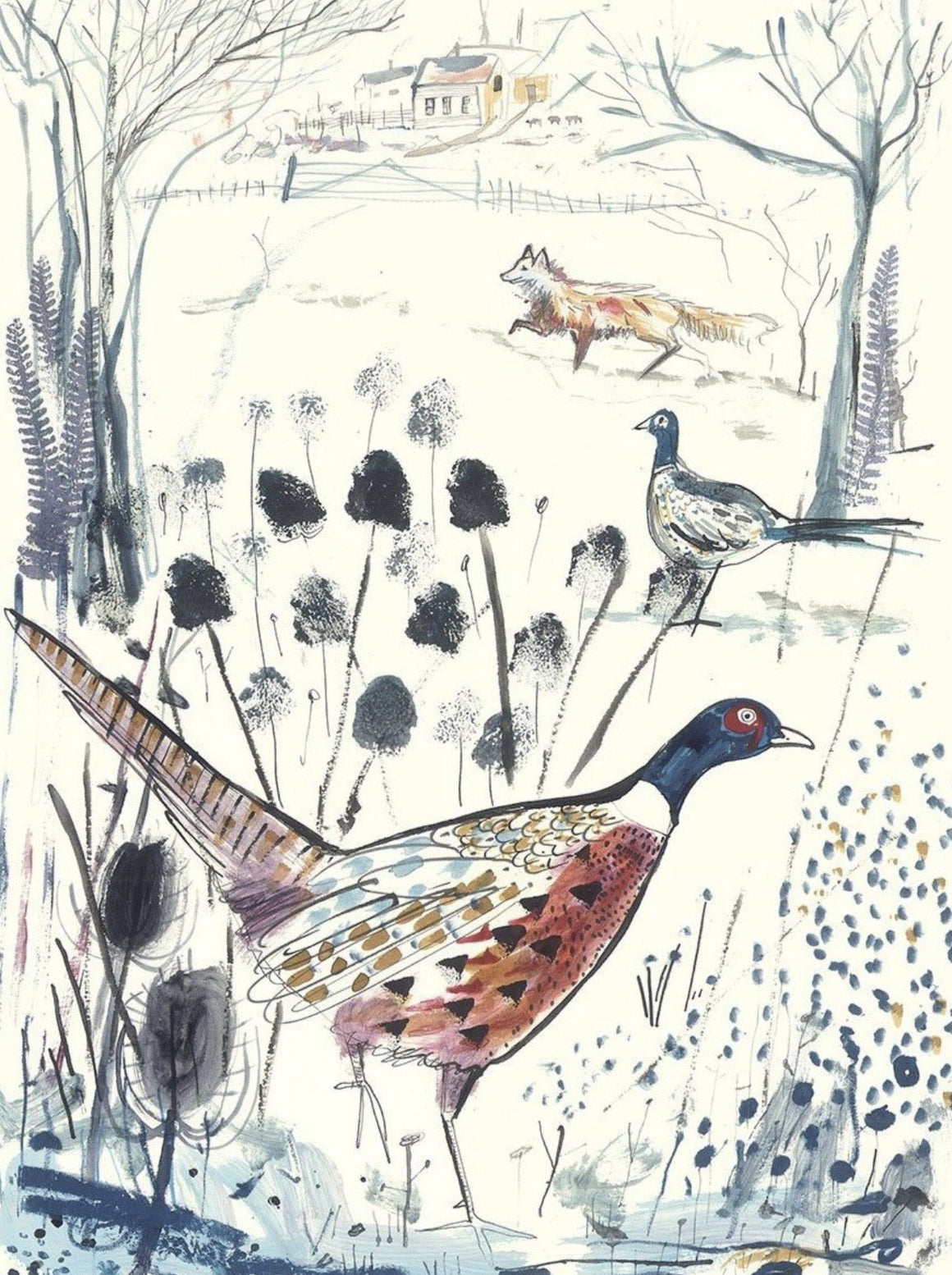 THE PHEASANT & THE FOX