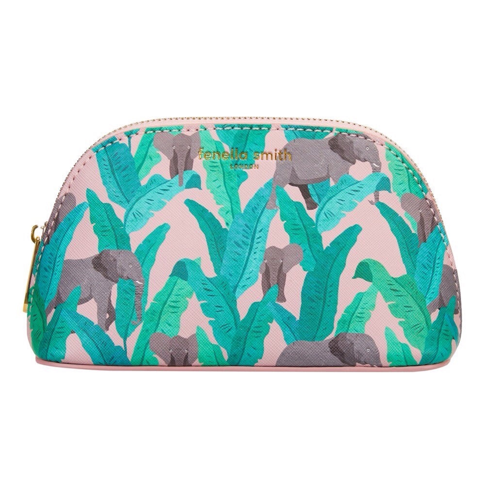 ELEPHANT VEGAN LEATHER COSMETIC CASE
