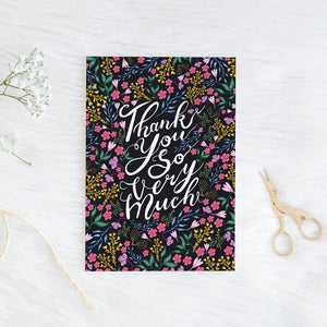 LIBERTY THANK YOU CARD