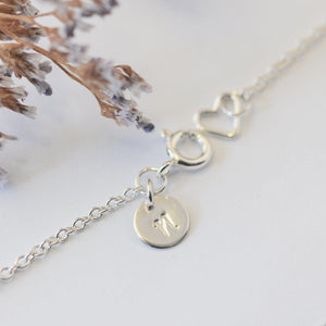BEE NECKLACE - DAINTY SILVER