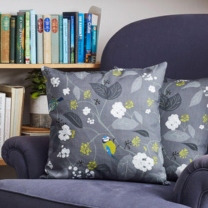 SPRING IVY SLATE CUSHION