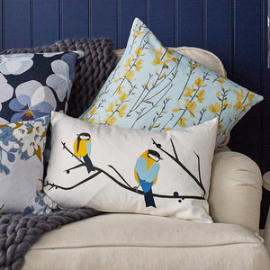 JUNEBERRY & BIRD CUSHION