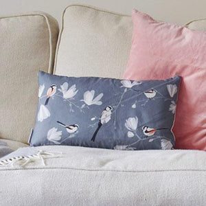 LONG TAILED TIT CUSHION