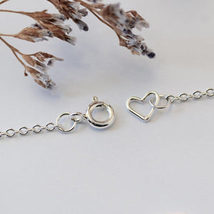 BEE NECKLACE - SILVER