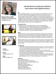 Invite Bridget Mosley to Speak on Cognitive Training