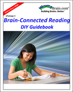 Cover of WowzaBrain's downloadable Do-It-Yourself Guidebook for the Brain-Connected Reading e-Package