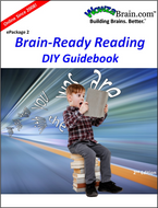 Cover of WowzaBrain's downloadable Do-It-Yourself Guidebook for the Brain-Ready Reading e-Package