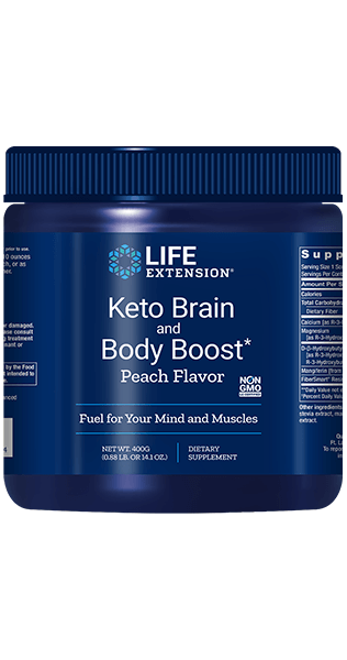 Life Extension Keto Brain and Body Boost (400 grams)