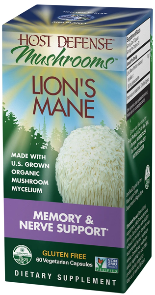Lion's Mane Memory and Nerve Support