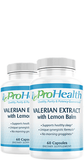 Valerian Extract with Lemon Balm 2-Pack
