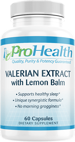 Valerian Extract with Lemon Balm