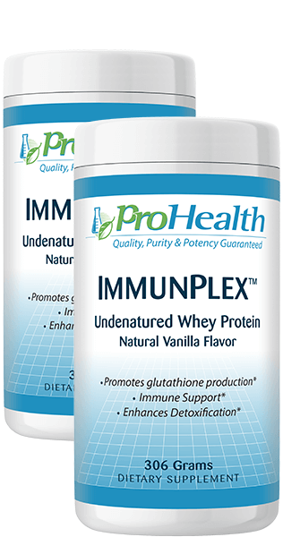 ImmunPlex™ Undenatured Whey Protein 2 Pack