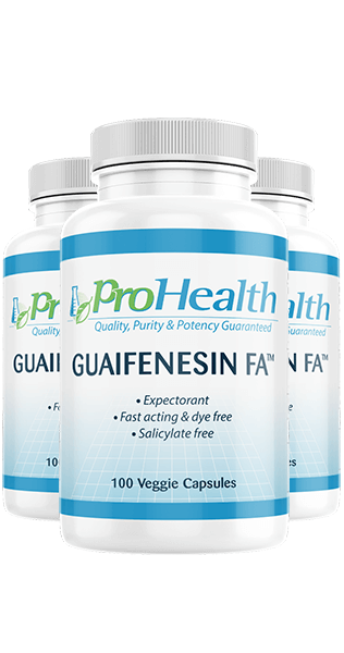 Guaifenesin FA™ 3-Pack