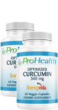 Optimized Curcumin Longvida® 2-pack
