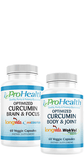 Optimized Curcumin Brain and Focus® + Body and Joint® Bundle