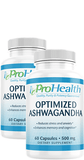 Optimized Ashwagandha (Organic) 2-Pack