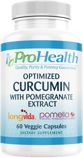 Optimized Curcumin Longvida with Pomella Pomegranate Extract