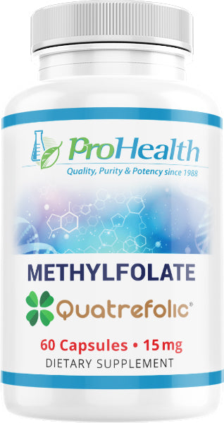 Methylfolate Featuring Quatrefolic
