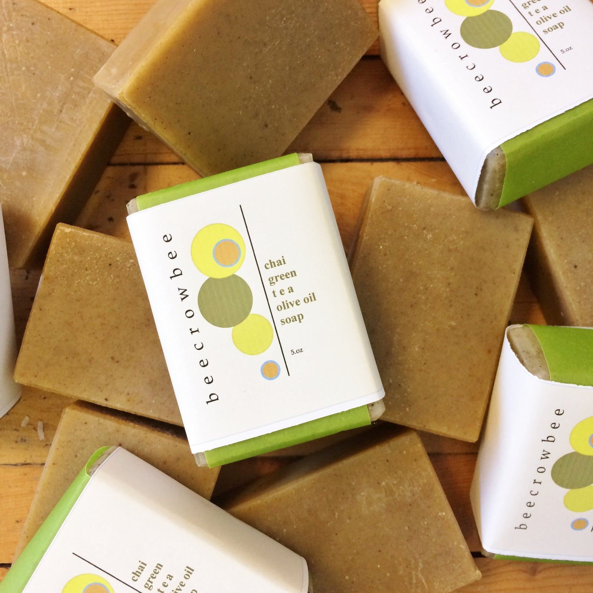 chai green tea soap