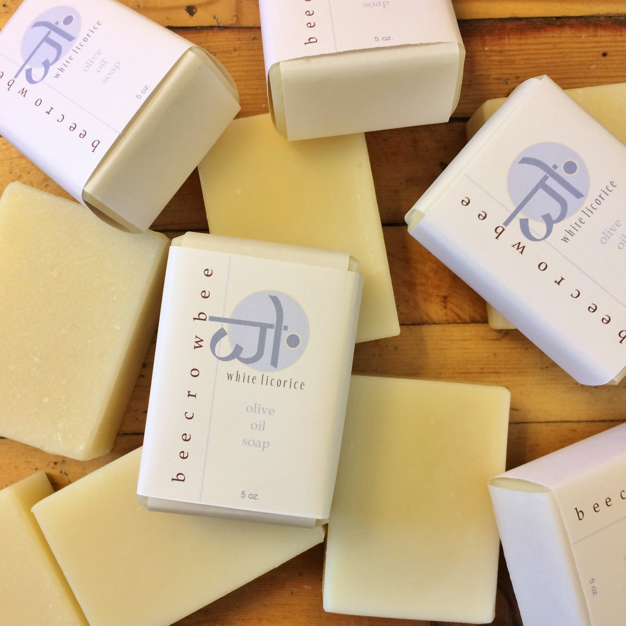 white licorice soap