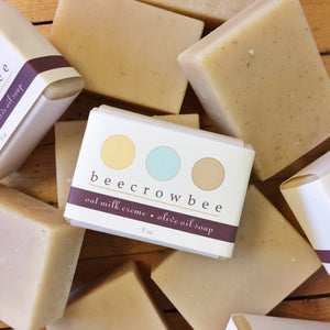 oat milk creme soap