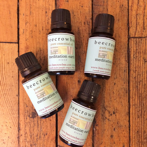 meditation earth essential oil blend