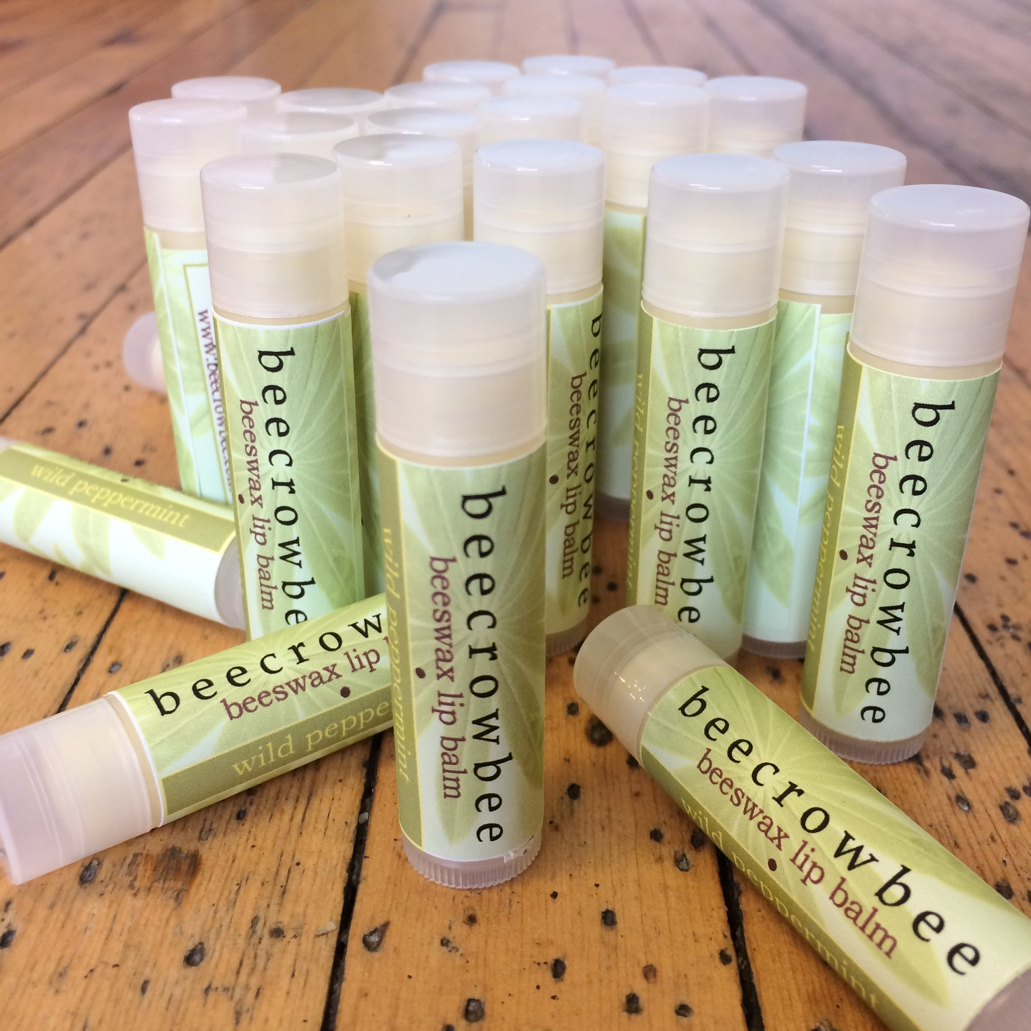 wild peppermint lip balm