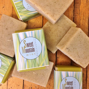 sweet mountain mint soap