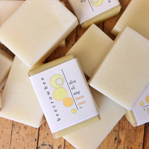 lemon creme soap