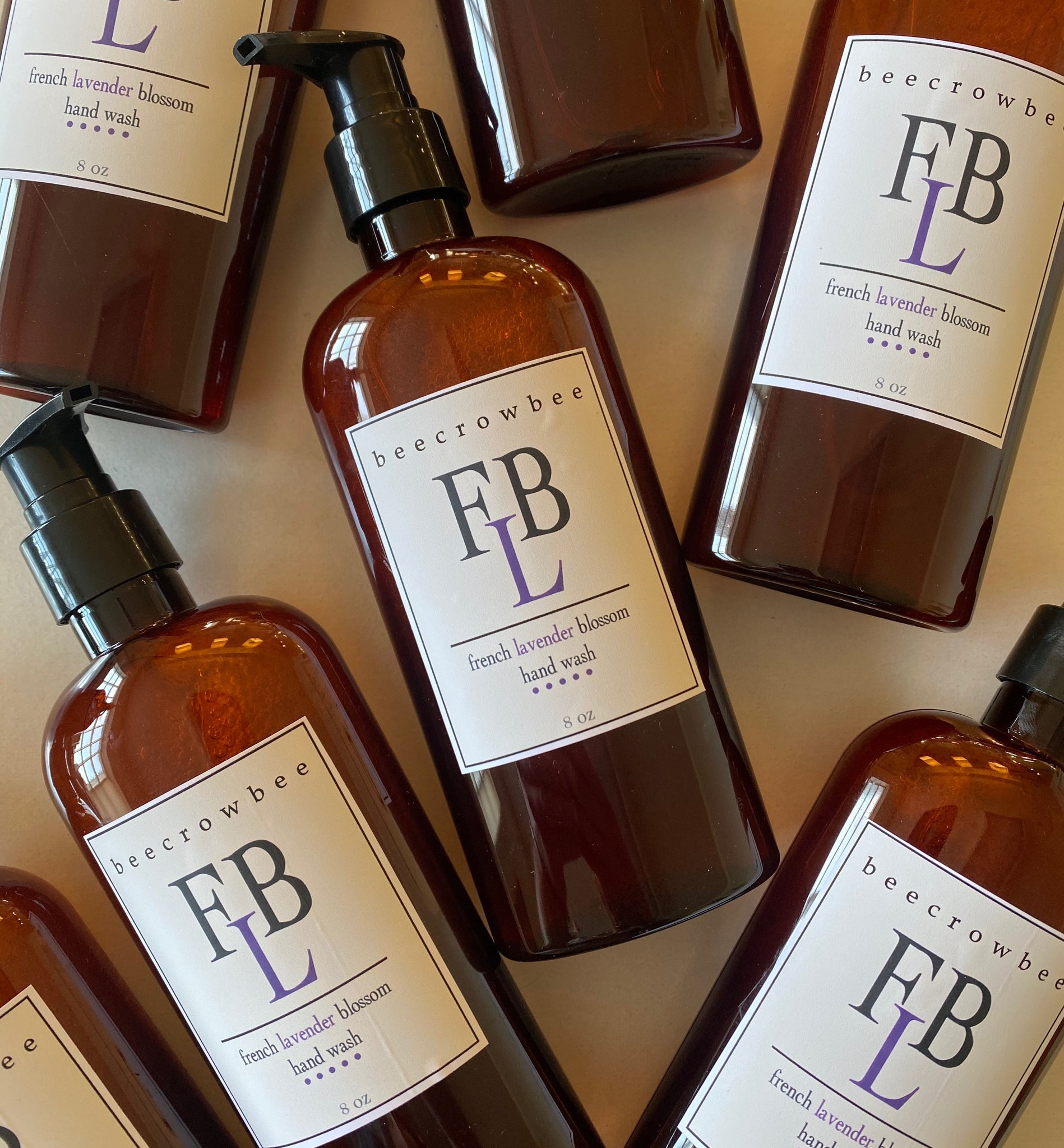 french lavender blossom hand wash