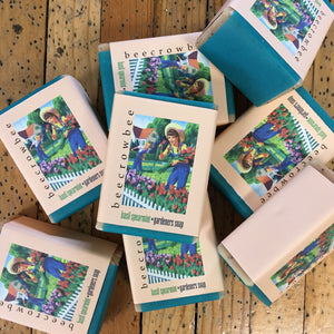 basil spearmint gardeners soap