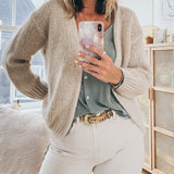 Sally Cardigan Beige