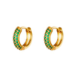 Mila Green Earrings