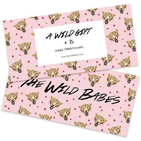 A Wild Gift €15 - Giftcard