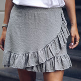 Stay Grey Skirt
