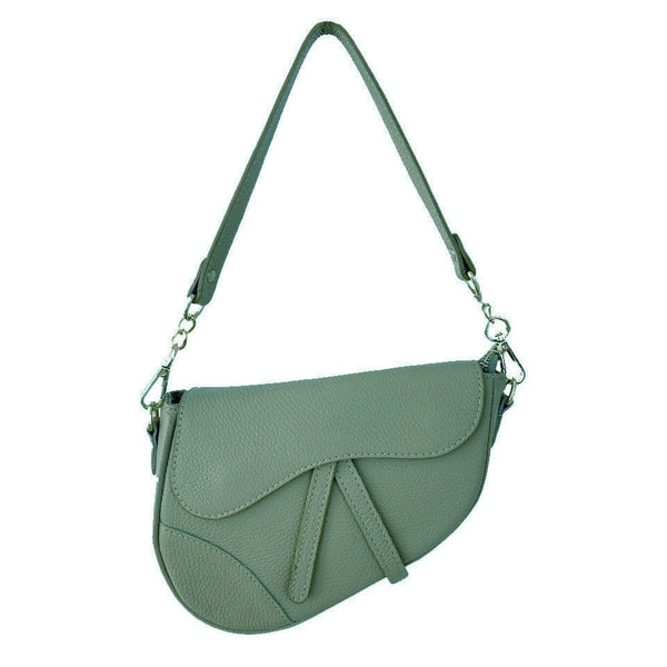 Saddle Up Green Bag