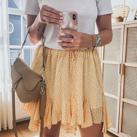 Flowy Yellow Skirt
