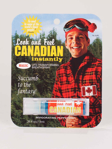 Look and Feel Canadian Breath Spray