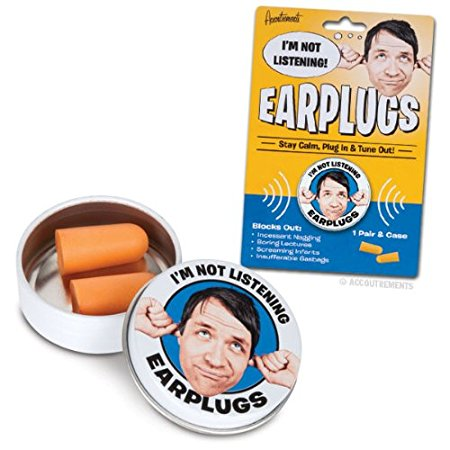 I'm Not Listening Ear Plugs