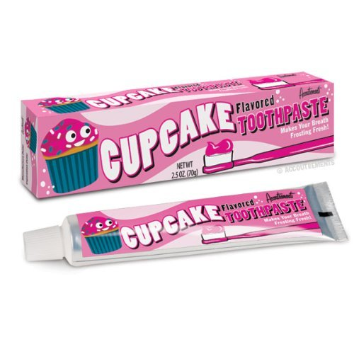 Cupcake Frosting Toothpaste