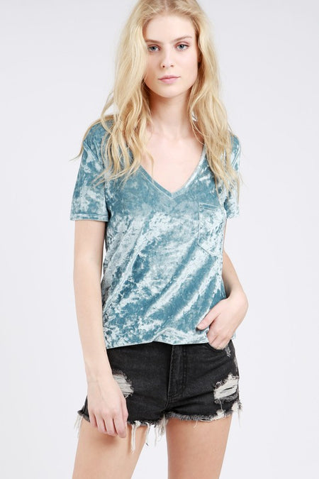 Sleeveless Velvet Mini